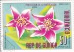Sellos del Mundo : Africa : Guinea_Ecuatorial :  FLORES- PROTECCIÓN DE LA NATURALEZA