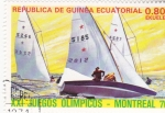 Sellos del Mundo : Africa : Guinea_Ecuatorial : OLIMPIADA DE MONTREAL