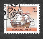 Stamps : Europe : Hungary :  3131 - Nave