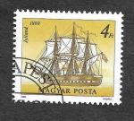 Sellos de Europa - Hungría -  3133 - Fragáta