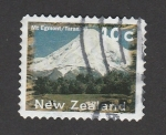 Stamps New Zealand -  Monte Egmont