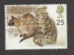 Sellos de Europa - Reino Unido -  Gatos