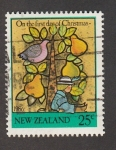 Stamps New Zealand -  Christmas