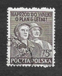 Sellos de Europa - Polonia -  539b - Congreso de la Asociación Filatelica Polaca
