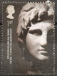 Stamps United Kingdom -  2481 - Cabeza de Alejandro el Grande