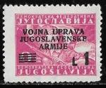 Stamps Yugoslavia -  Yugoslavia-cambio