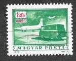 Stamps Hungary -  J270 - Avión de Correo