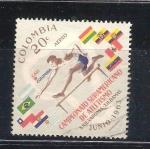Sellos de America - Uruguay -  RESERVADO atletismo