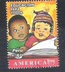 Sellos del Mundo : America : Perú :  RESERVADO educación para todos