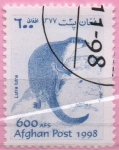 Stamps : Asia : Afghanistan :  Lutre lutra