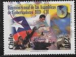 Sellos del Mundo : America : Chile :  Reunión Anual de las Asambleas de Gobernadores BID