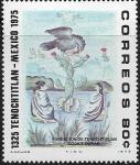 Sellos del Mundo : America : México :  650 años de la fundación de la Ciudad de México-Tenochtitlán, 1325-1975