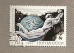 Sellos de Europa - Rusia -  Hombre espacial del futuro