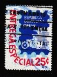 Sellos de America - Rep Dominicana -  Entregas especiales