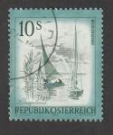 Stamps Austria -  Lago Neusiedler