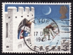 Sellos de Europa - Reino Unido -  Estampa Navideña