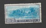 Stamps India -  Lago Dal