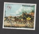 Stamps Paraguay -  Centenario de la UPU