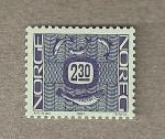 Stamps Europe - Norway -  Sellos definitivos