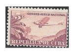 Sellos de America - Cuba -  C12 - Avión