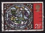 Stamps United Kingdom -  Vidriera