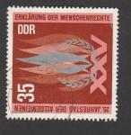 Stamps Germany -  XXv aniv. de los derechos humanos