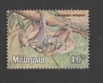 Stamps Malaysia -  Cynocephalus variegatus