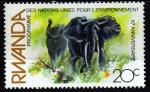 Sellos del Mundo : Africa : Rwanda : 10º Aniversario