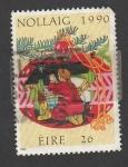 Stamps Ireland -  Navidad 1990