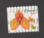Sellos de America - Canadá -  Flor naranja