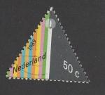 Stamps Netherlands -  Bandas de colores