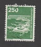 Stamps Germany -  Aeropuerto
