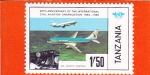 Stamps : Africa : Tanzania :  4O ANIVERSARIO AVIACIÓN CIVIL INTERNACIONAL