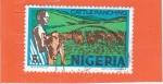Stamps : Africa : Nigeria :  GANADERIA