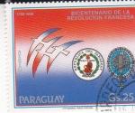 Stamps Paraguay -  BICENTENARIO DE LA REVOLUCIÓN FRANCESA