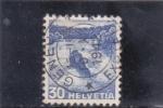 Stamps Switzerland -  CATARATAS DEL RHIN