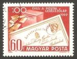 Stamps Europe - Hungary -  2080 - Centº de la Carta