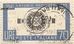 Sellos de Europa - Italia -  Antonio Pacinotti