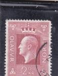 Stamps Europe - Norway -  REY OLAV V