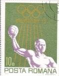 Stamps Europe - Romania -  OLIMPIADA MUNICH`72
