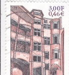 Sellos de Europa - Francia -  LE VIREUX LYON