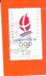 Stamps Europe - France -  ALBERTVILLE 92