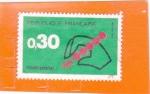 Stamps Europe - France -  CODIGO POSTAL