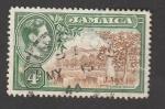 Stamps America - Jamaica -  Huerto de naranjos