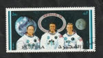 Stamps Asia - United Arab Emirates -  Fujeira - 55 - Apollo 14, Shepard, Roosa y Mitchell