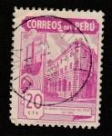 Stamps America - Peru -  El Banco de Industrias del Perú