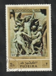 Stamps Asia - United Arab Emirates -  Fujeira - 79 - Escultura de Carpeaux