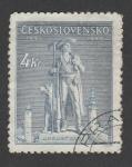 Stamps Europe - Czechoslovakia -  250 Aniv. de la ejecución de Jan Sladky, lider revolucionario