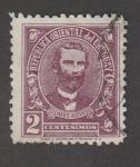 Stamps Uruguay -  Presidente Eduardo Azevedo