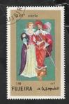 Stamps : Asia : United_Arab_Emirates :  Fujeira - 136 - Trajes típicos del siglo XVII